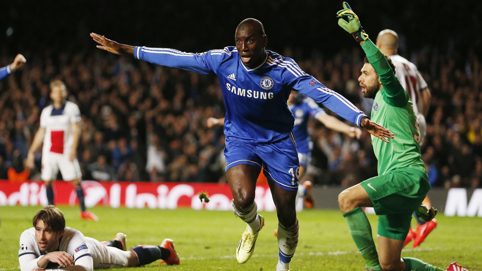 Demba Ba s'envole, Maxwell et le PSG à terre