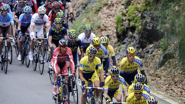 Contador, tranquille leader à mi-parcours