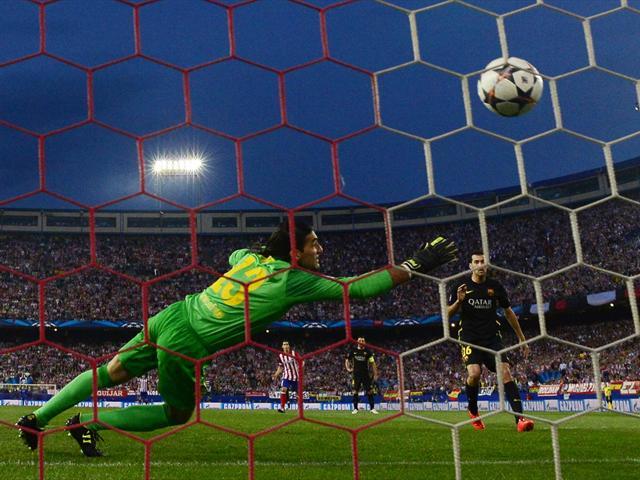 L\'Atletico élimine le Barça (1-0 en quart de finale retour de la Ligue des champions 2014)-Football-Ligue des champions