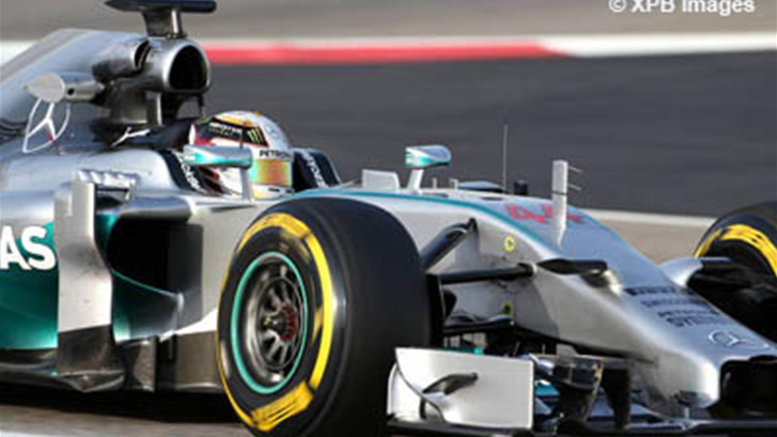 Pirelli a test en vue de la saison 2015 grand prix de bahre n 2014 formule 1 eurosport - Formule vitesse de coupe ...