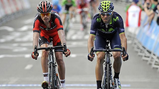 Contador brille, Valverde et Sanchez grignotent