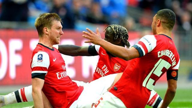 FA Cup, Demi-finale : Wigan - Arsenal (1-1, 4 tab à 2) : Arsenal passe par un trou de souris