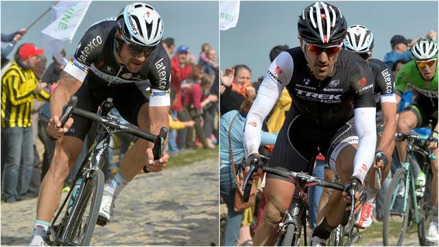 Boonen - Cancellara : les deux géants étaient un peu courts
