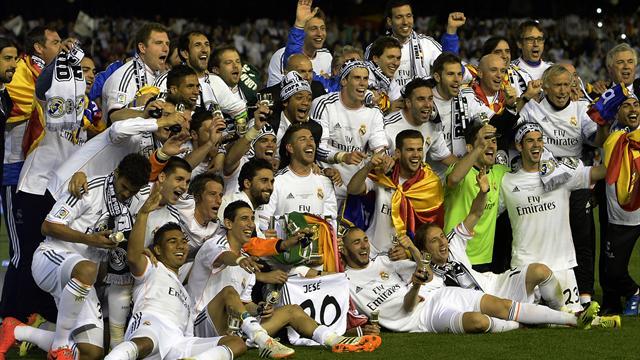 Real Madrid 2-1 Barcelone : le real remporte le trophée