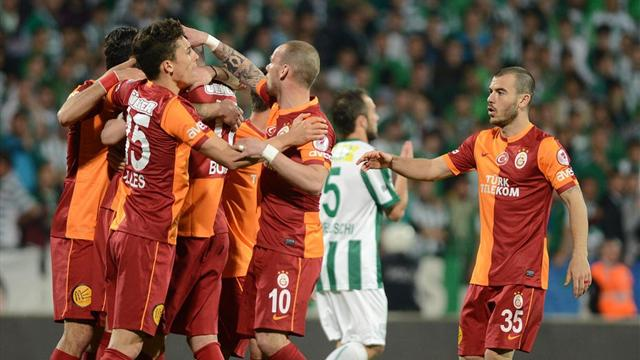 Bursaspor-Galatasaray: 2-5 / MAÇ ÖZETİ