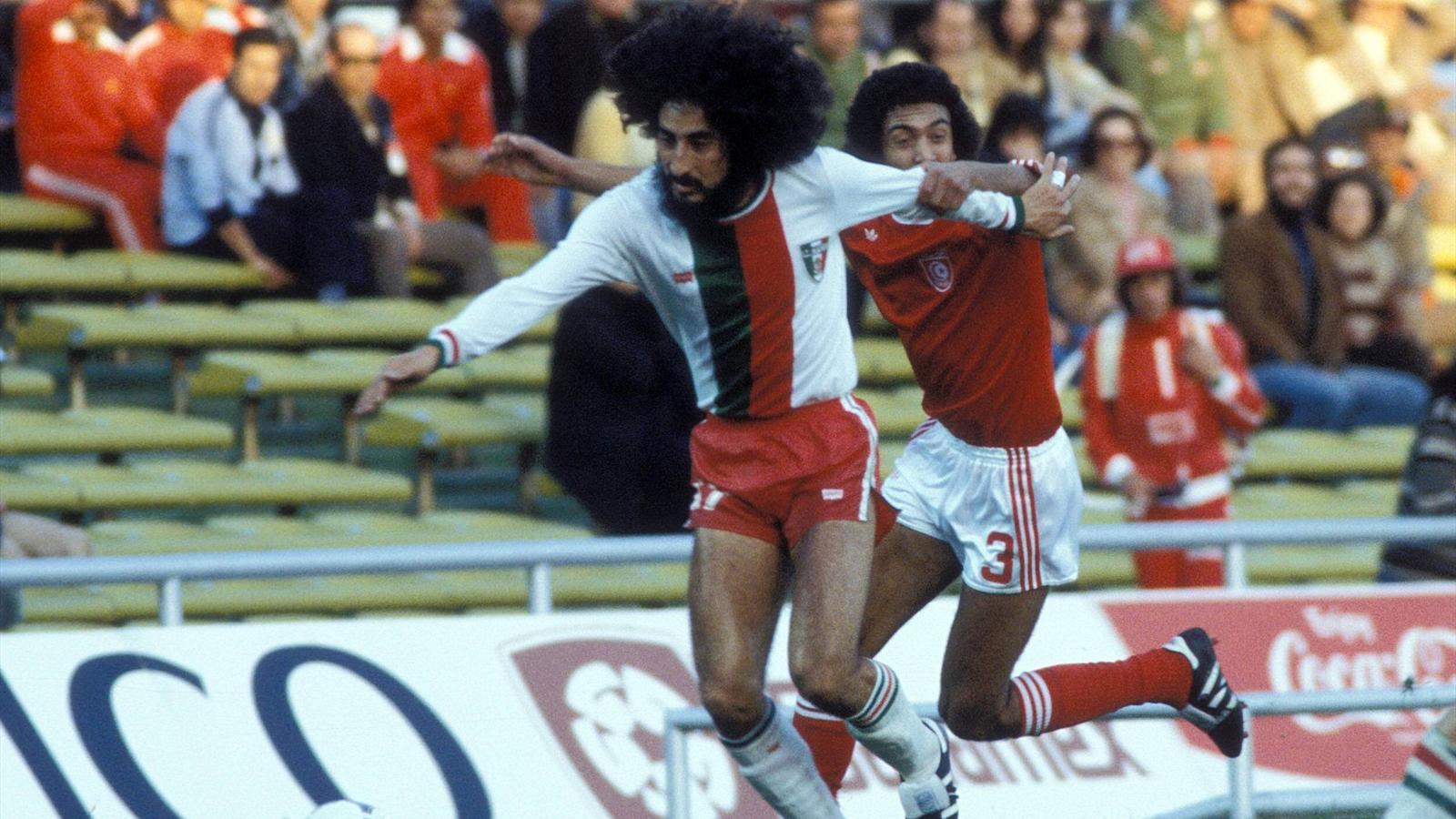 Leonardo cuellar mexique tunisie coupe du monde 1978 - Finale coupe du monde 1978 ...