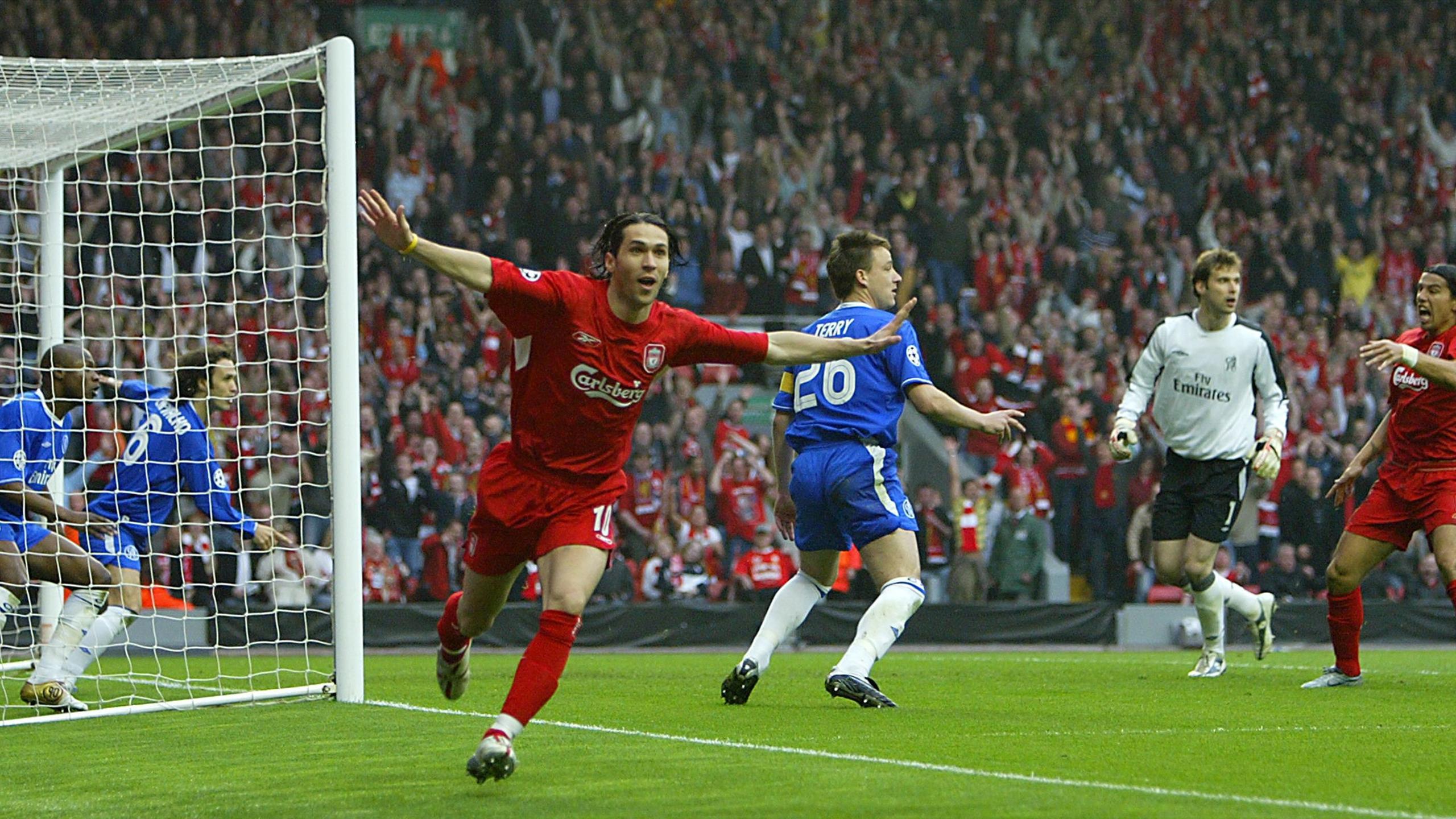 Liverpool-Chelsea, demi-finale retour de la Ligue des champions 2005