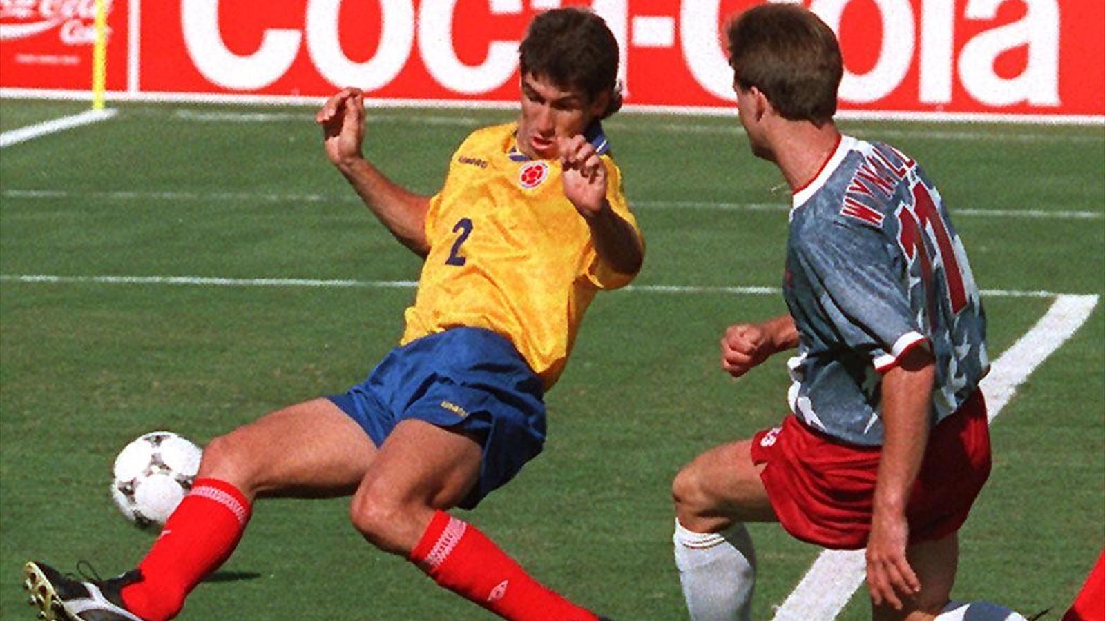Andres escobar coupe du monde 1994 - Meilleur buteur coupe du monde 1994 ...