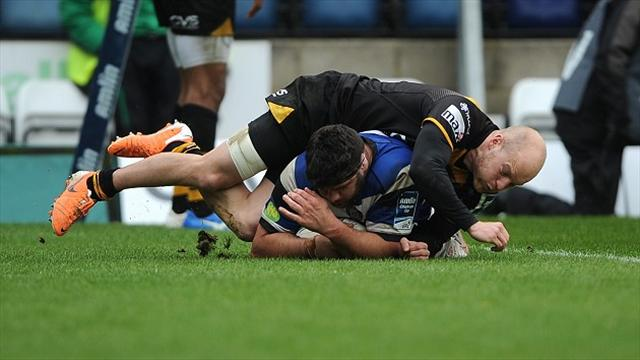 Bath edge past Wasps into final