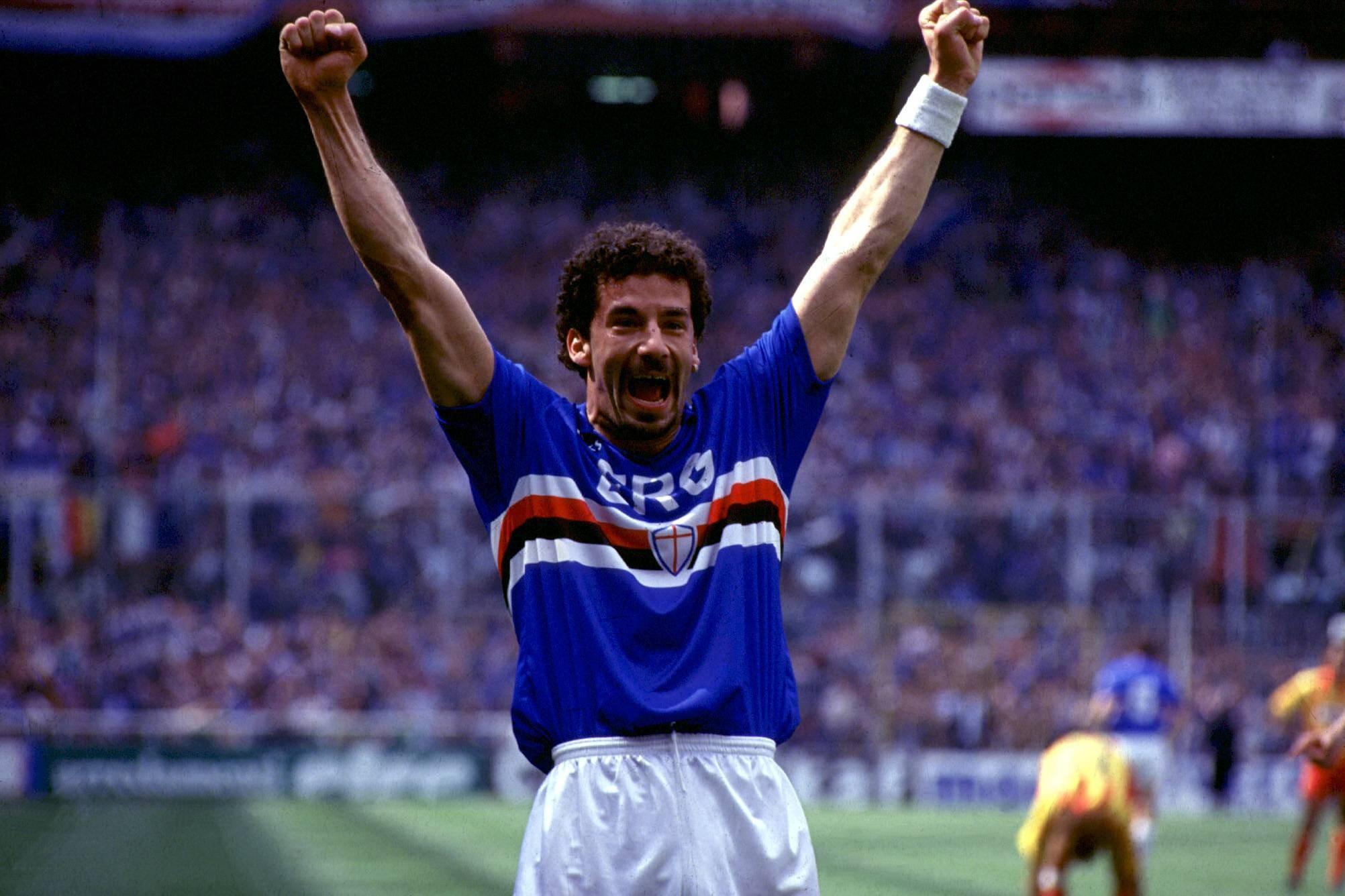 Gianluca Vialli - Sampdoria 1991 (Imago)