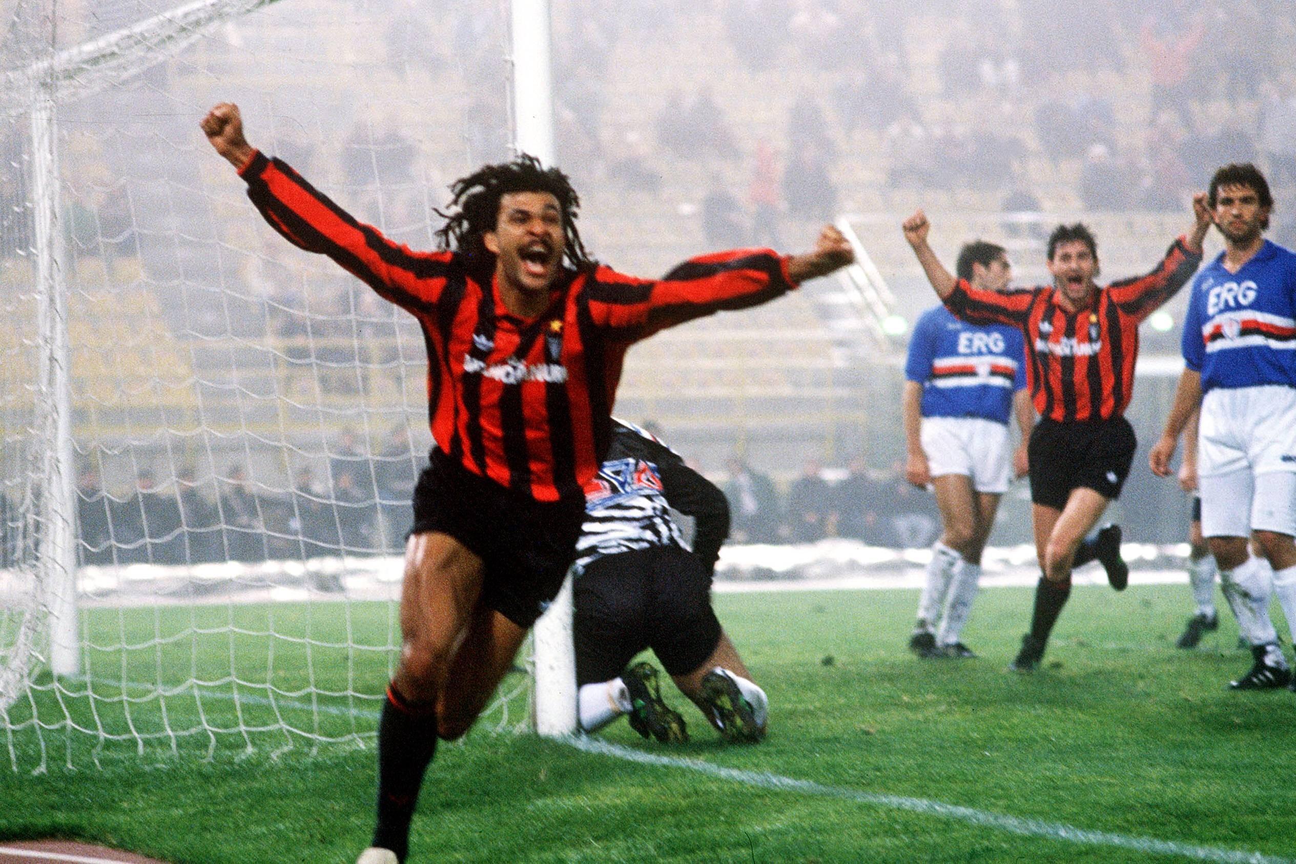 Ruud Gullit - Milan 1991 (Imago)