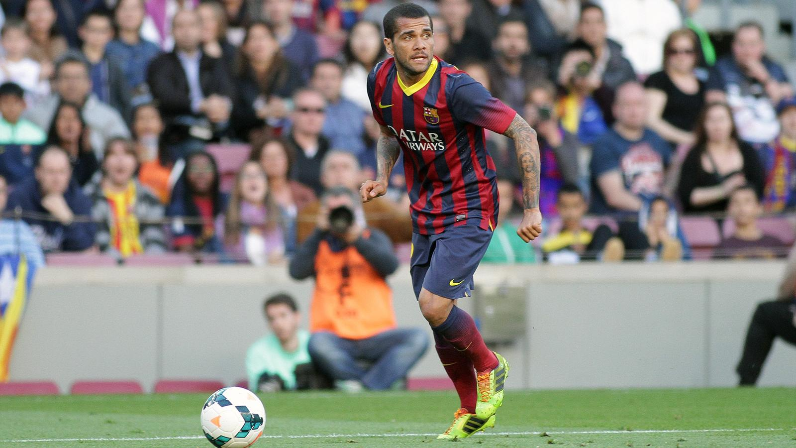 Dani Alves, FC Barcelone