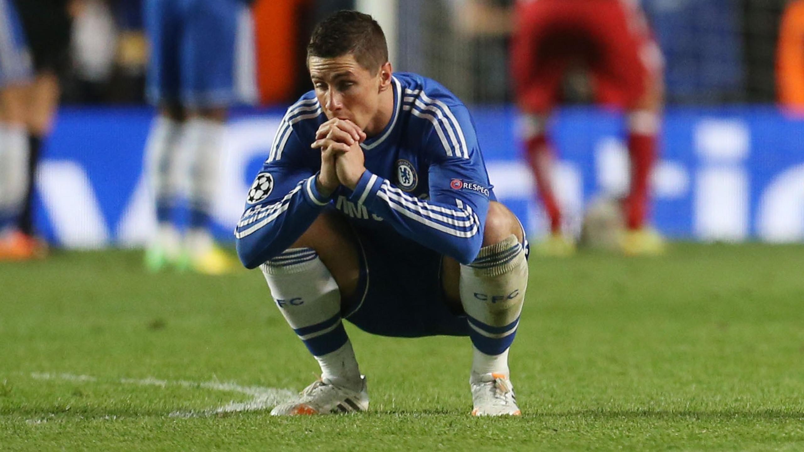 Fernando Torres (Chelsea) face à l'Atlético Madrid 2014