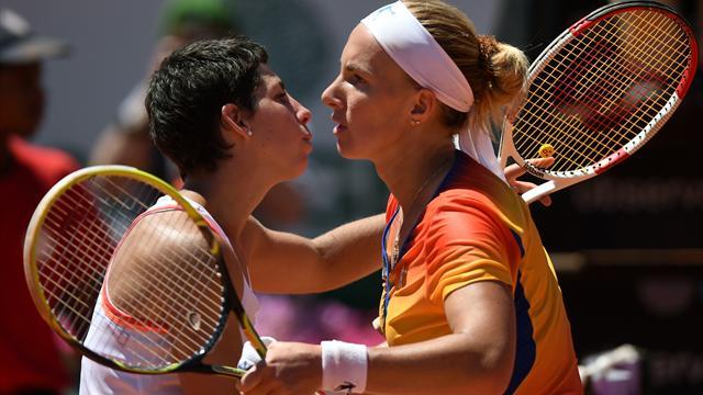 Бегом от титула. Кузнецова уступила Суарес-Наварро в финале