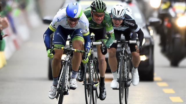 Albasini règle encore une fois Voeckler au sprint