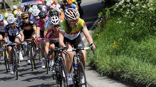 Вгрупповой велогонке наОлимпиаде первой пришла голландка