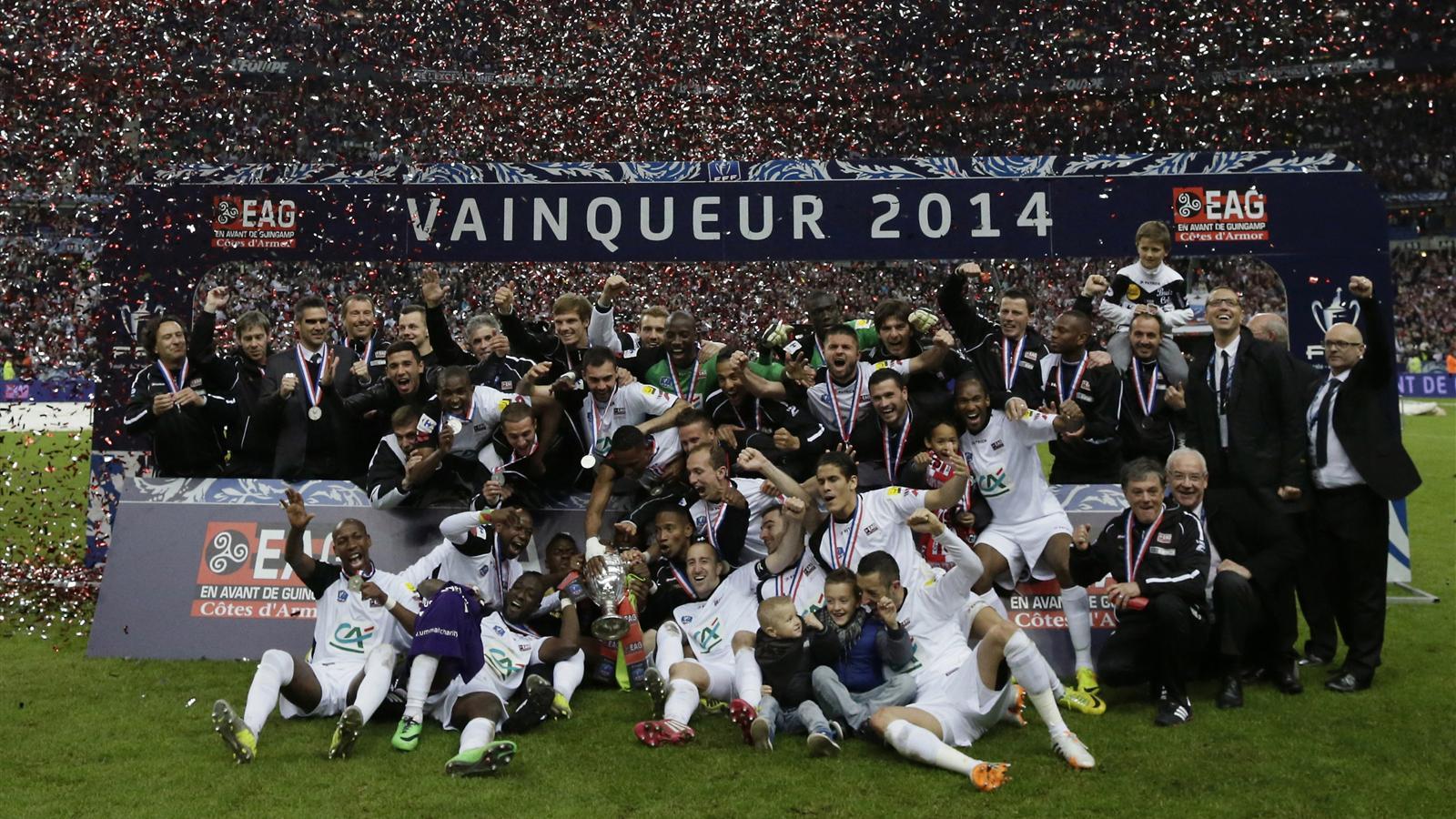 Ea guingamp club de ligue 2 football - Guingamp coupe de france ...