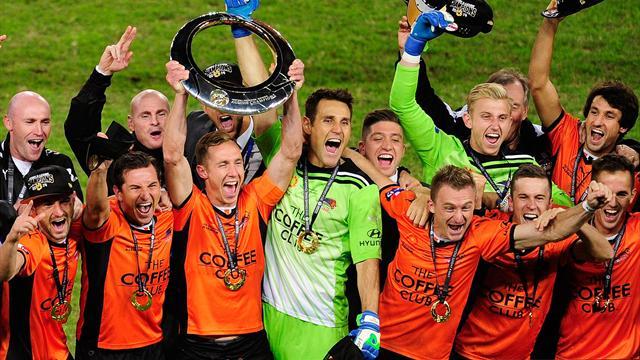 'Slippery fish' Henrique seals A-League title for Roar