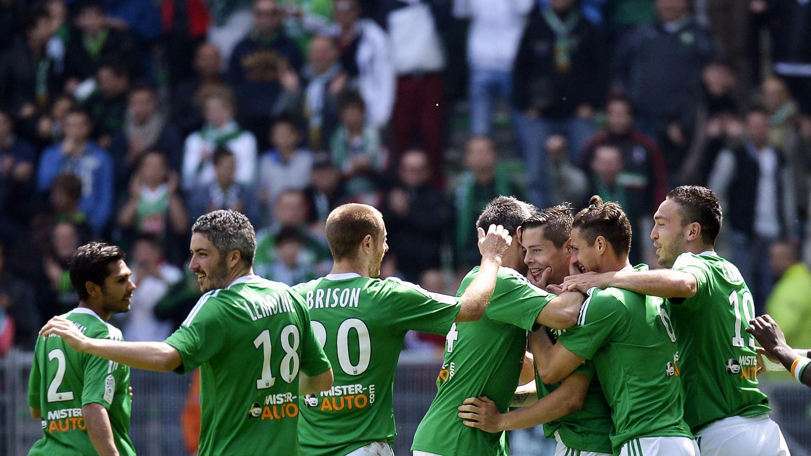 Ligue 1 36e j saint etienne bat montpellier 2 0 et tient son billet pour la coupe d - St etienne coupe d europe ...