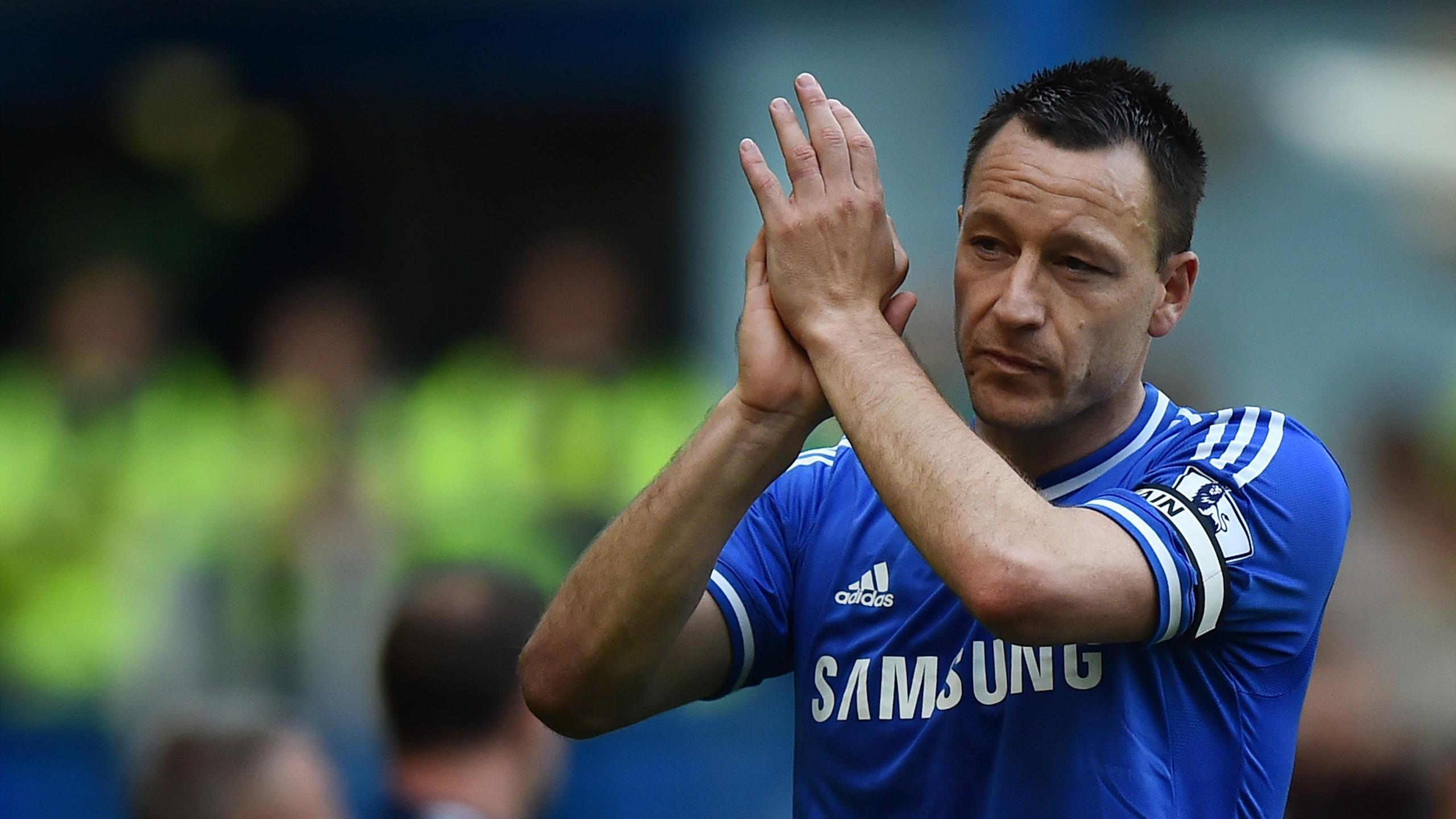 John Terry, le capitaine de Chelsea.