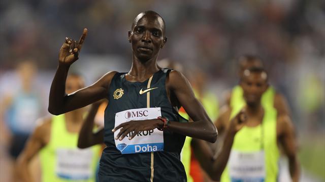 Kiprop renonce à se défendre des accusations de dopage