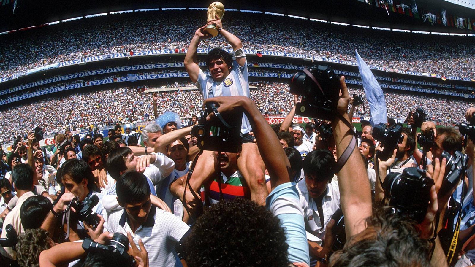 Coupe du monde 1986 la r tro victoire de l 39 argentine au mexique coupe du monde 2014 - Equipe argentine coupe du monde 2014 ...