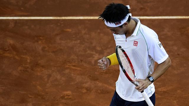 Nishikori a fini par épuiser Ferrer