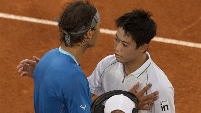 Nishikori, l'homme qui a fait paniquer Nadal sur terre