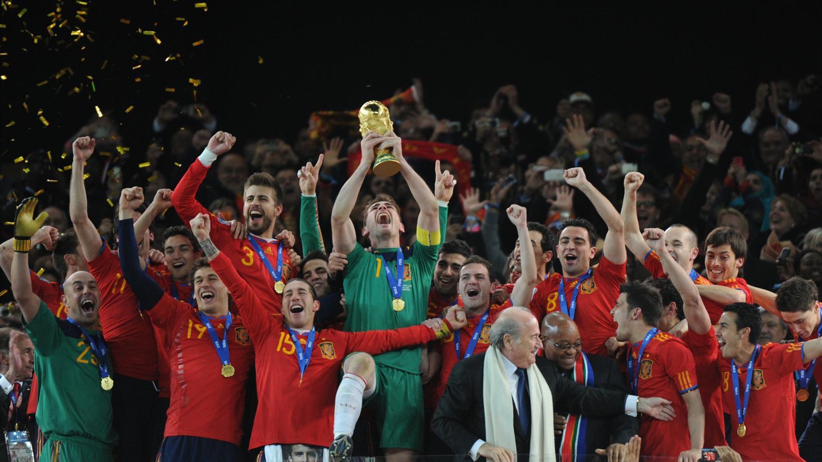 Coupe du monde 2010 la r tro victoire de l espagne en afrique du sud coupe du monde 2014 - Coupe du monde espagne 2014 ...