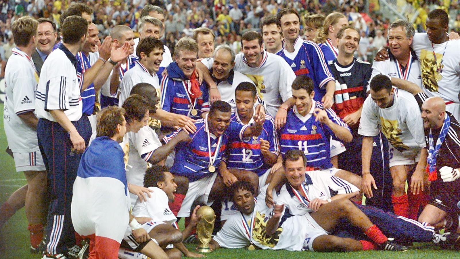 Coupe du monde 1998 la r tro victoire de la france en - Resultats coupe de france de football ...
