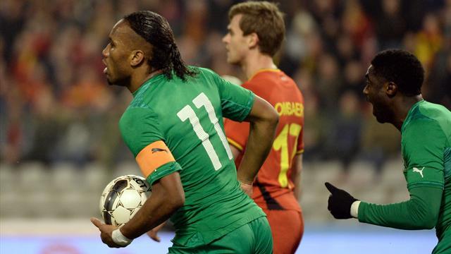 Drogba, Yaya Touré et Gervinho guideront la Côte d'Ivoire