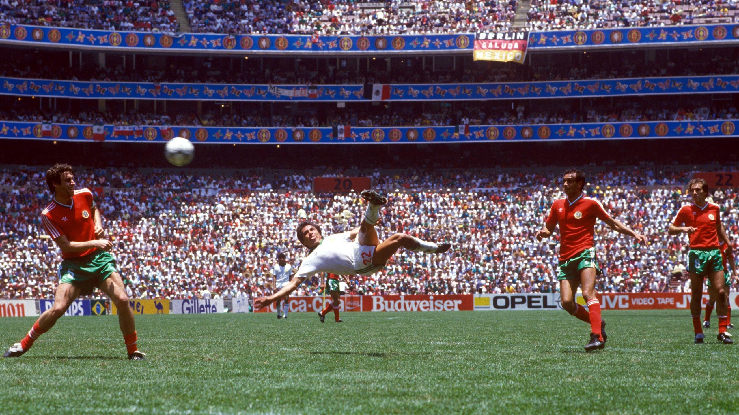 100 photos mythiques qui ont fait l 39 histoire de la coupe - Finale coupe du monde 1986 ...