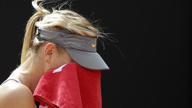 Maria Sharapova'dan şampiyonaya erken veda