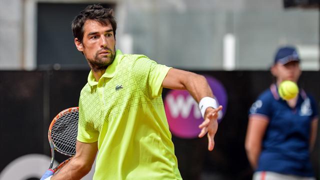 Tennis : Chardy attendra encore avant de voir les demi-finales d'un Masters 1000