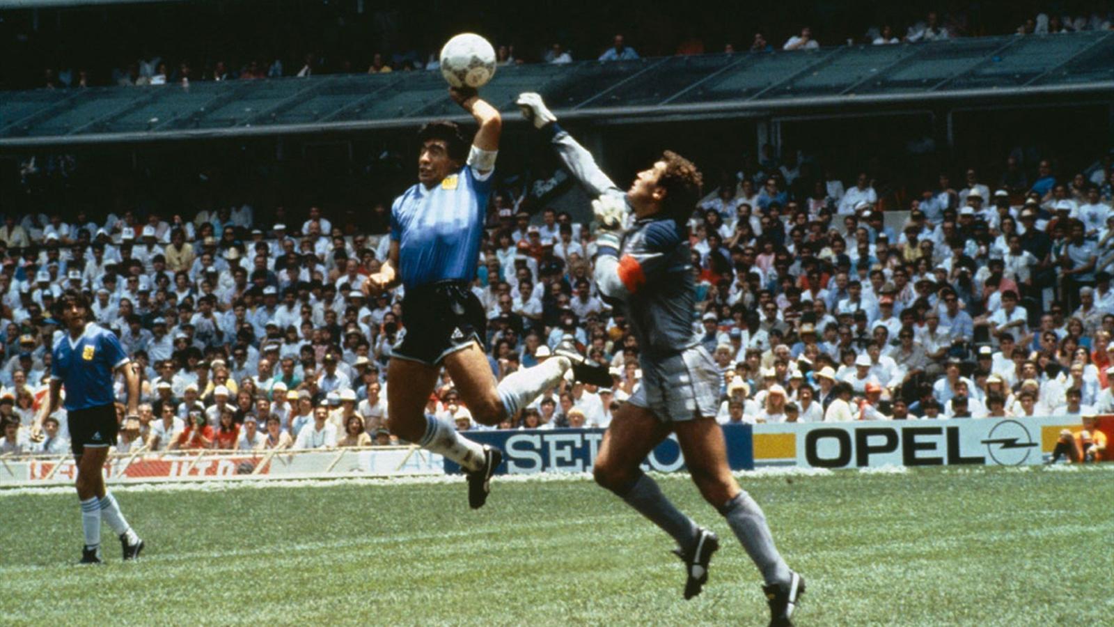 Чемпионат Мира 1986: рука бога