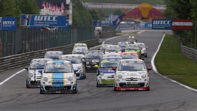Troisième manche du Trophée Abarth à Spa Francorchamps