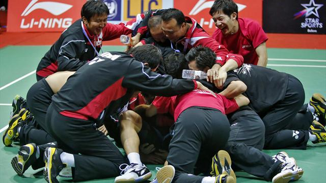 Japan Down Malaysia To Claim Maiden Thomas Cup Title