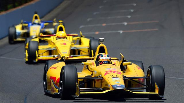 American Hunter-Reay wins Indianapolis 500