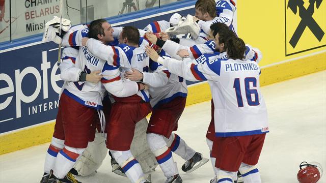 Сборная России досрочно выиграла Кубок Первого канала