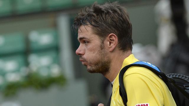 Wawrinka prend la porte d'entrée, Roland-Garros perd un de ses favoris