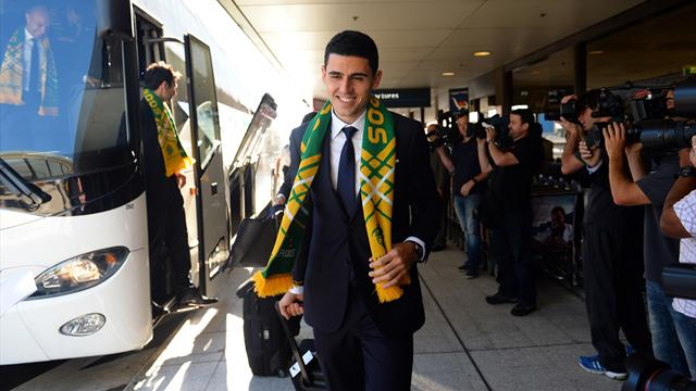 Australia first team to arrive in Brazil for World Cup