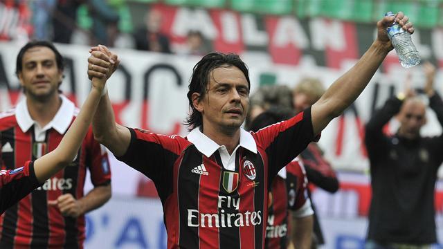 FACTBOX-New AC Milan coach Filippo Inzaghi