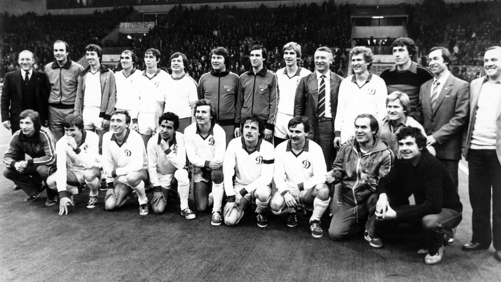 Золотой состав минского «Динамо» 1982 года