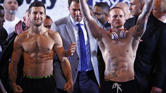 Froch and Groves safely make weight for Wembley blockbuster