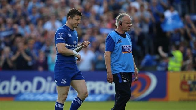 O'Driscoll injured as Leinster defend title