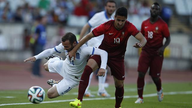 Portugal play out goalless draw with Greece