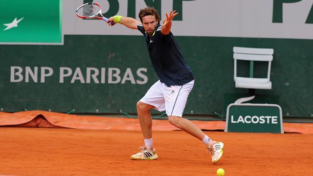 Tennis : Le coup droit de Gulbis n'a rien d'acad�mique mais il fait mouche