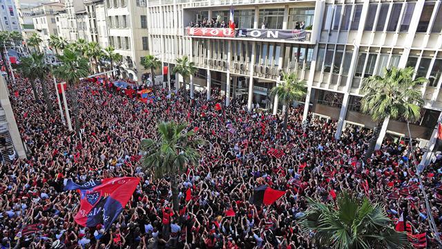 Foule, Haka, Wilkinson, Pilou-Pilou: Toulon fête ses héros