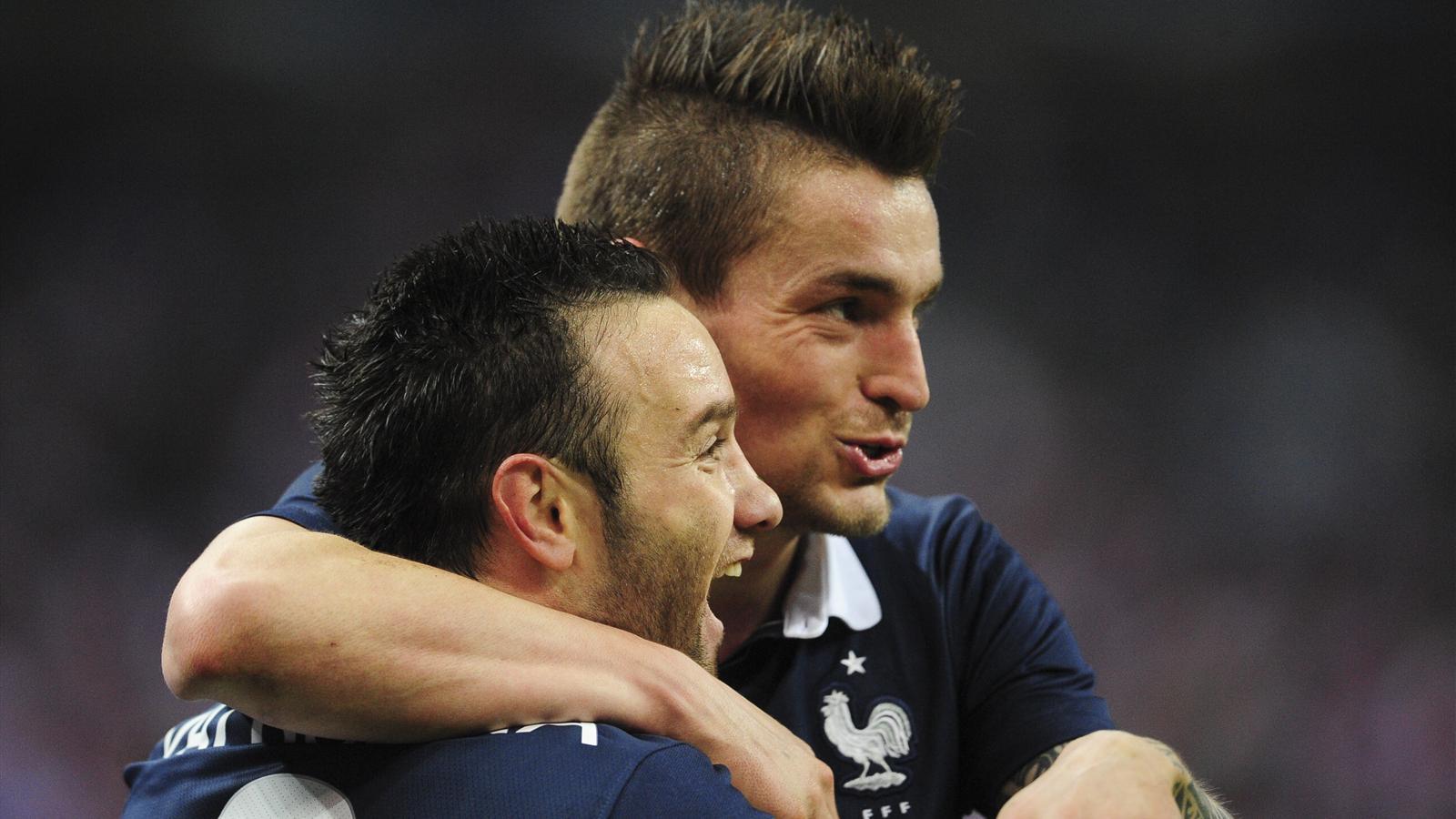 Debuchy et Valbuena s'entendent parfaitement sur le terrain