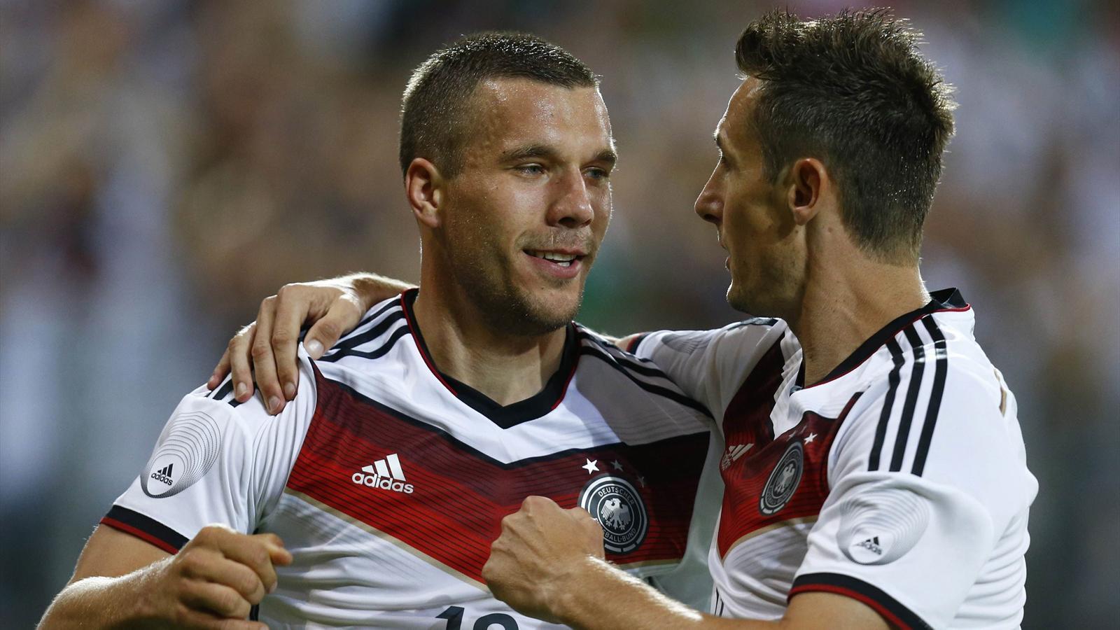 Podolski et Klose, deux centenaires